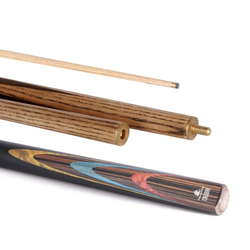 Calibre Snooker Cue 50/50 Split 10mm Tip