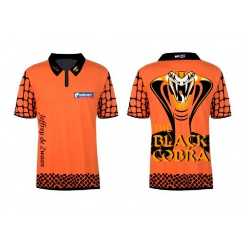 Limited Edition 2020 Premier League Jeffrey De Zwaan dart shirt