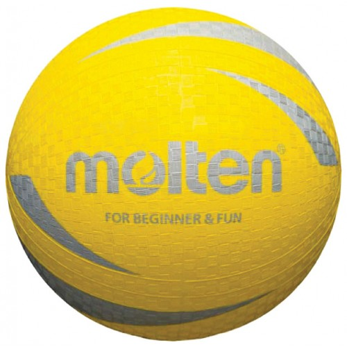 Yellow Soft Multi-Purpose Sports Ball