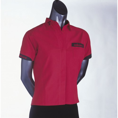 Teknik Ladies Dart Shirt Red - SAVE £24!