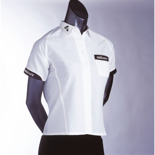 Teknik Ladies Dart Shirt White - SAVE £24!