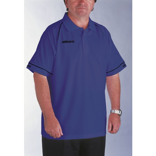 Polo Shirt Blue/Black - SAVE £9!