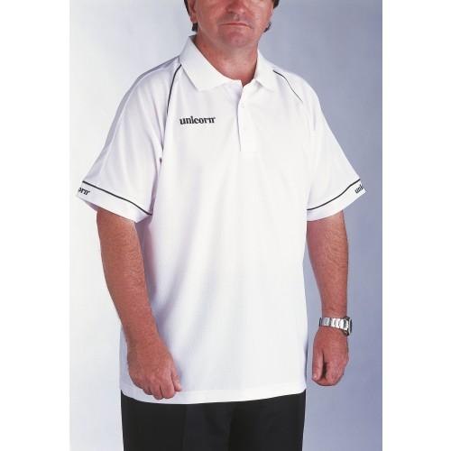 Polo Shirt White/Black