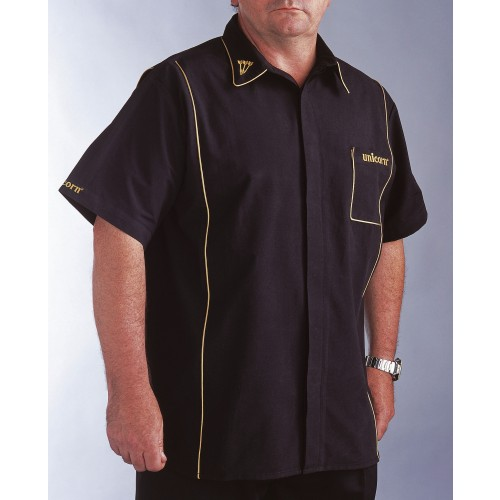 Teknik Mens Dart Shirt Black/Gold - SAVE £24!