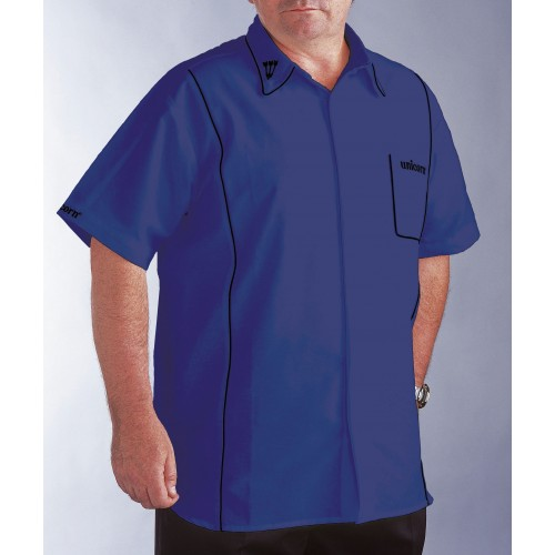 Teknik Mens Dart Shirt Blue/Black - SAVE £24!