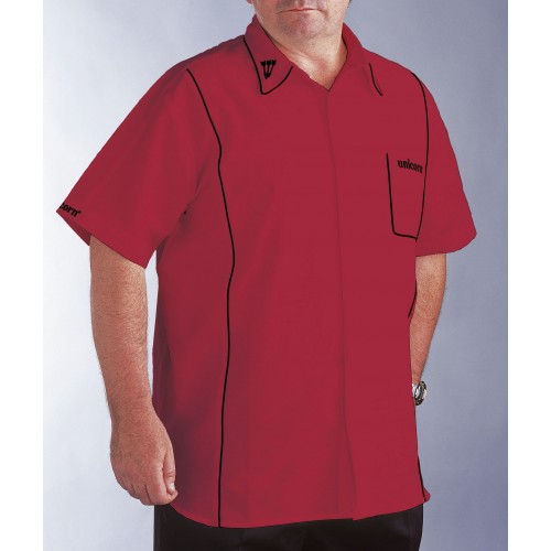 Teknik Dart Shirt Mens Red/Black - SAVE £24!