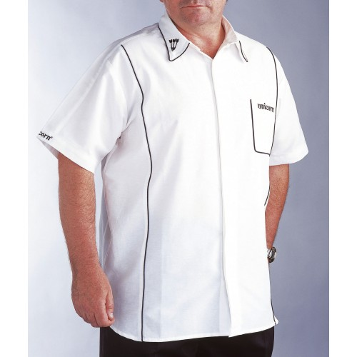 Teknik Mens Dart Shirt White/Black - SAVE £24!