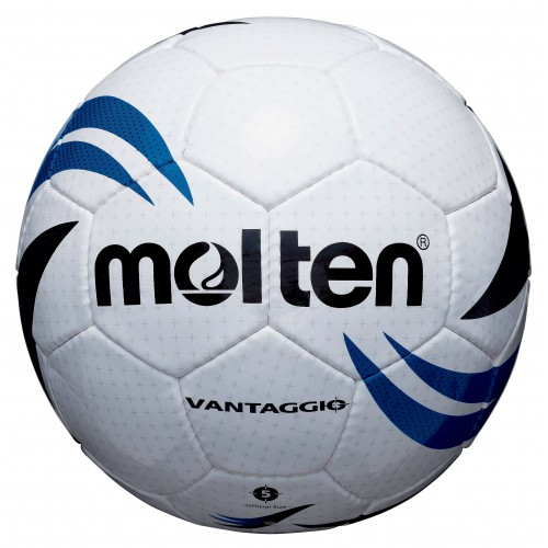 School/Club level match football - Size 4 White/Blue