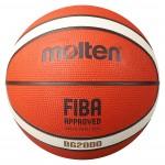Molten BG2000 B7G2000 B6G3000 B5G2000 B3G2000 Basketball Deep Channel Main Front Image