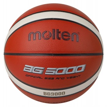 BG3000 Basketball 12 Panel Synthetic Leather (Indoor & Outdoor)