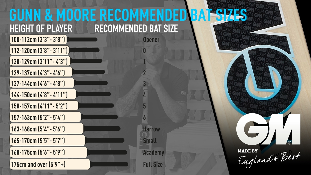 Bat Sizing How To Choose Your Cricket Bat Cricket Official Online Store